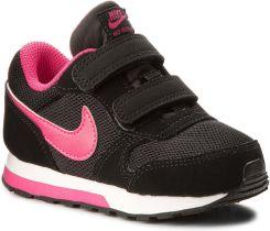 Buty NIKE - Md Runner 2 (Tdv) 807328 006 Black Vivi Pink  be601f741ab1c