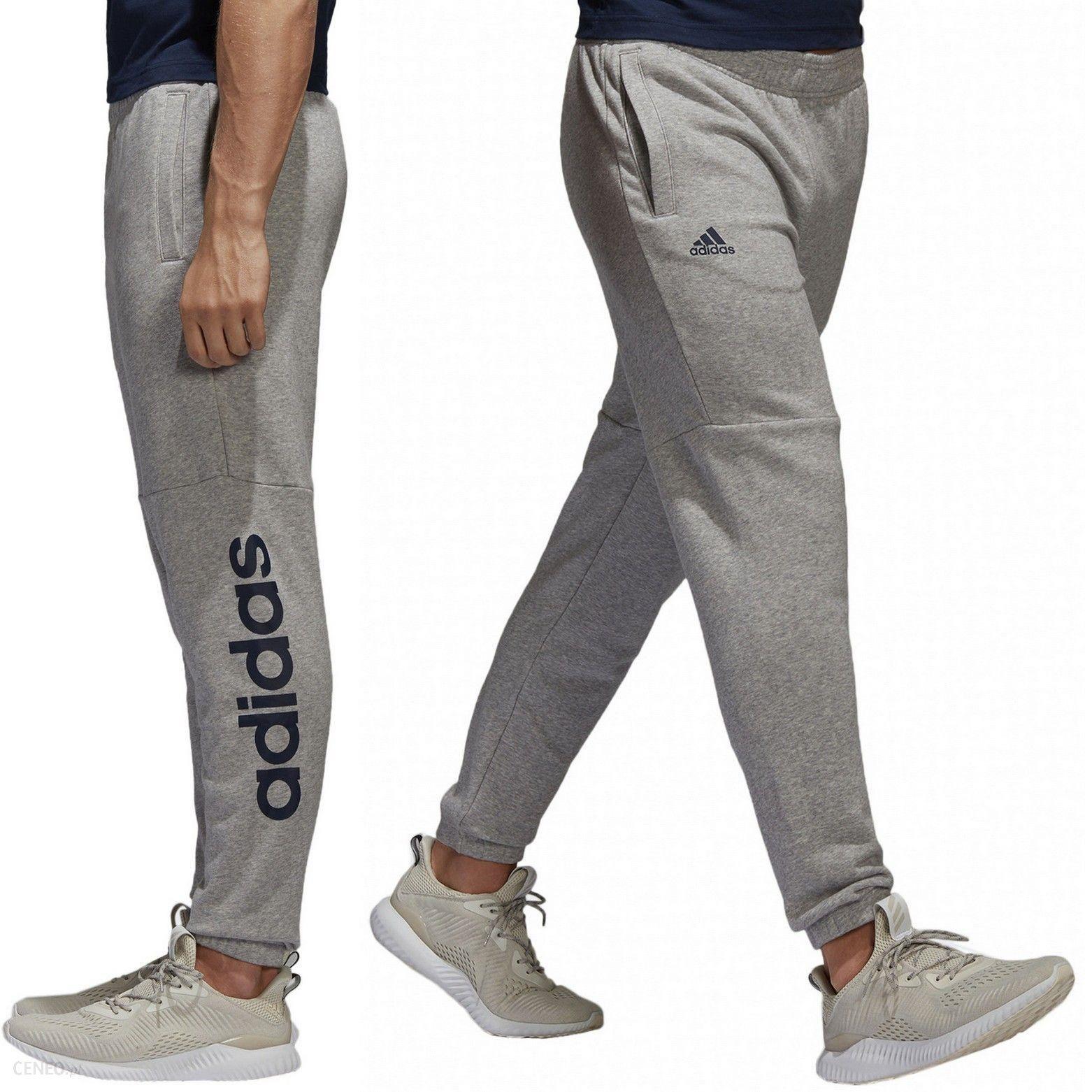 Adidas Ess Linear Spodnie Dresowe Męskie BQ9092 S Ceny i opinie Ceneo.pl