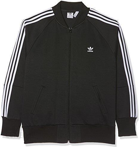 Amazon Adidas damska kurtka 3 paski, czarny, 40 Ceneo.pl