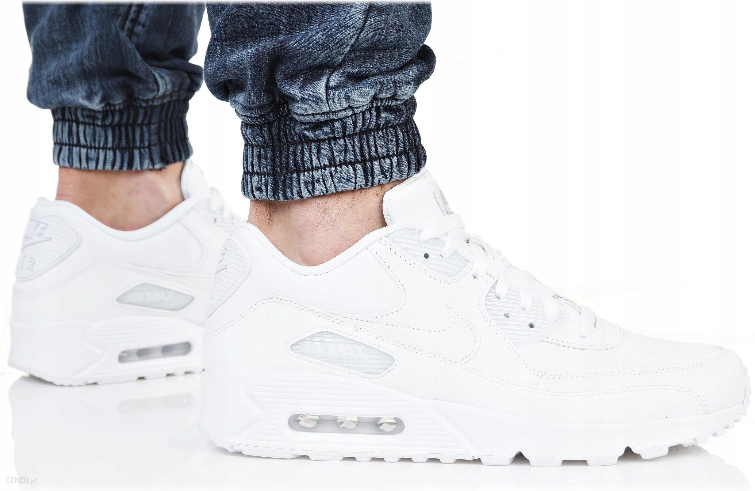 1ec8f9c4d812 Buty Nike Air Max 90 Leather 302519-113 Białe - Ceny i opinie - Ceneo.pl