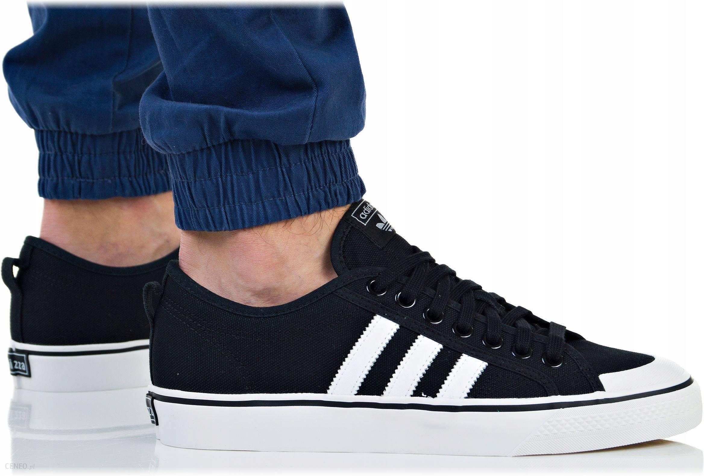 Buty Adidas Męskie Nizza BZ0495 Trampki Czarne Ceny i opinie Ceneo.pl