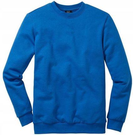 bce48cd068e7f Bluza dresowa Regular F niebieski 44/46 (s) 939366 Allegro