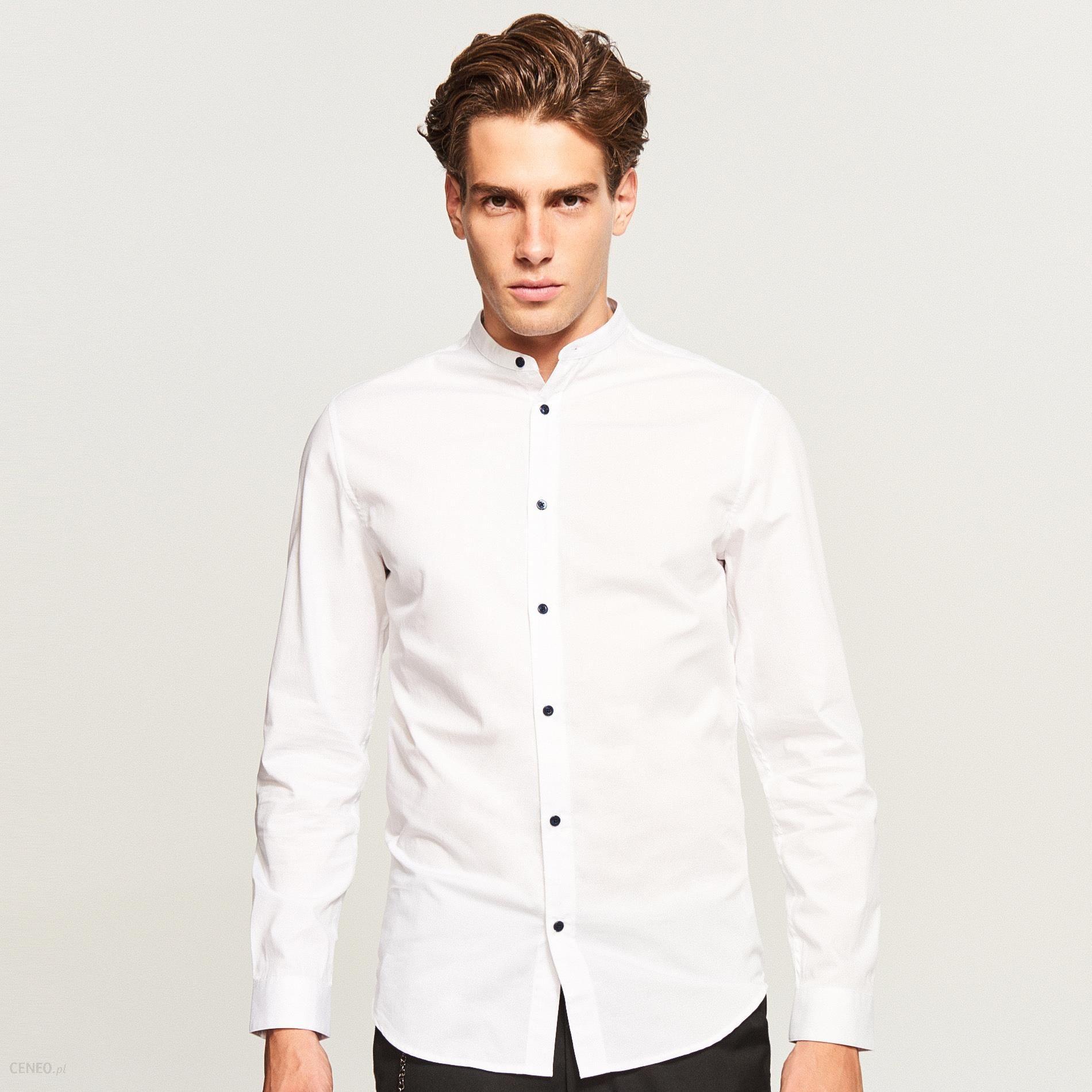 Koszula ze stójką Slim fit  TNK2Z