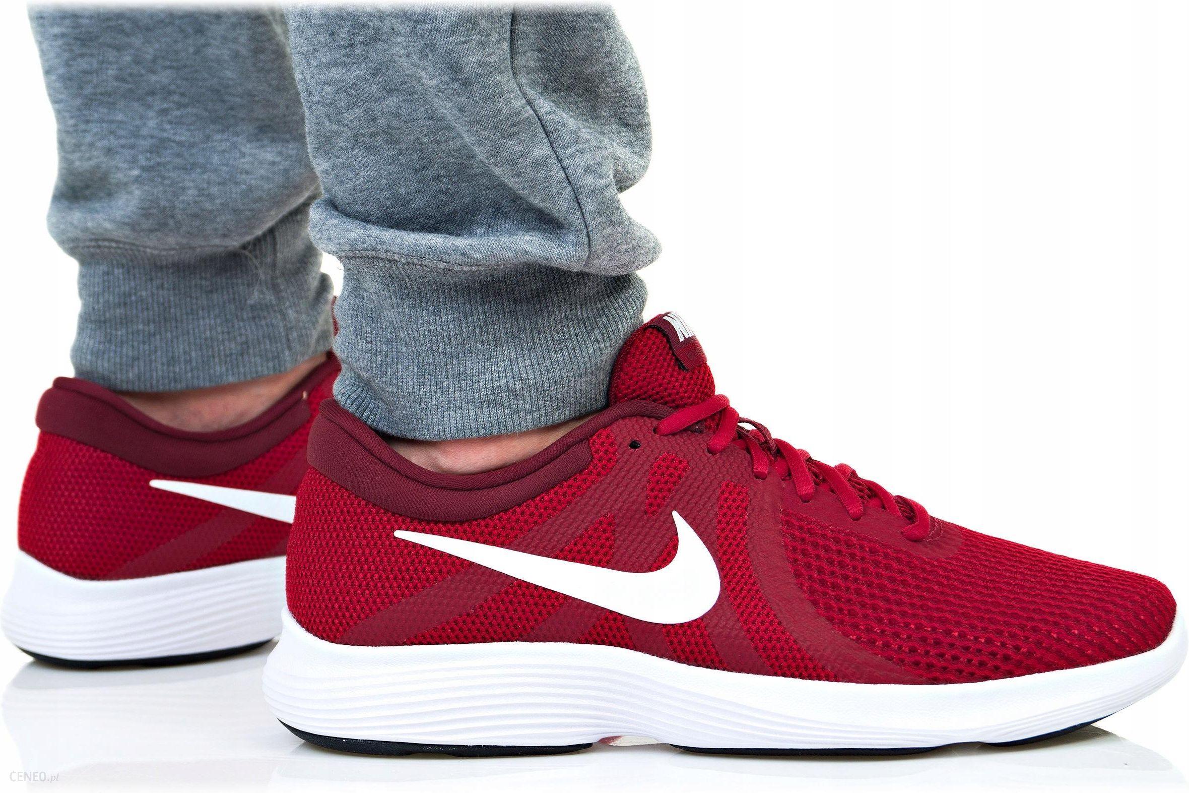 buty zimowe nike męskie czerwone