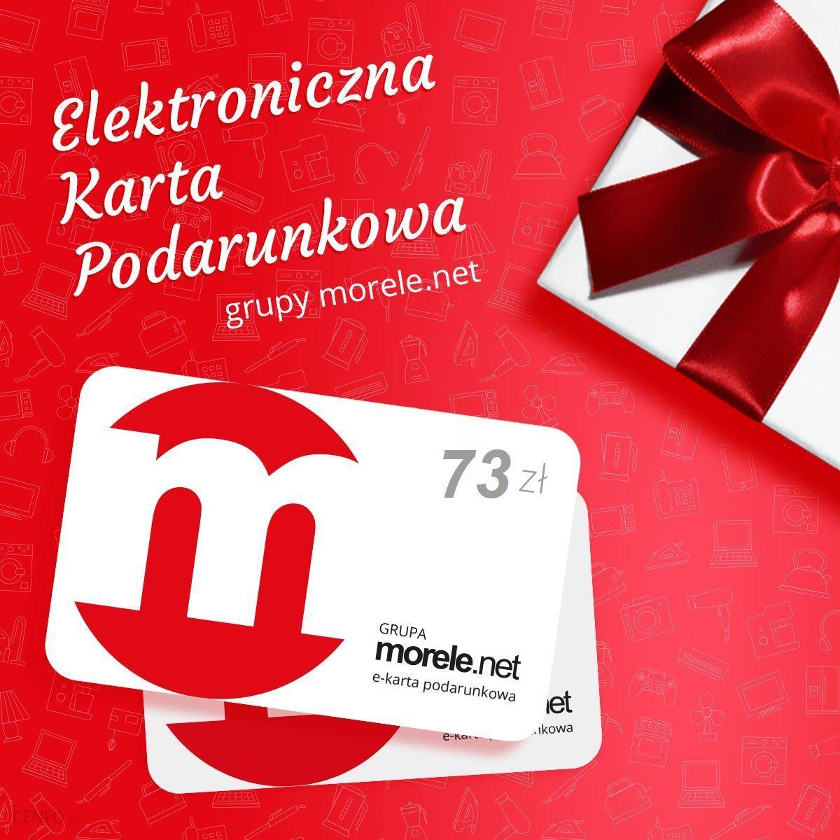 Morele Net Elektroniczna Karta Podarunkowa 73zl Ceny I Opinie