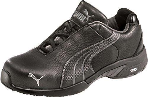 Amazon Puma damskie buty ochronne Miss Velocity WNS Low 64.285.0 półbuty S3, 37, czarny