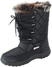 fb14068fc3c76 Amazon Damskie kozaki zimowe czarnym cw91, 39 eu, czarny