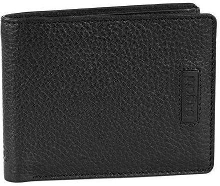 b1a6238525da2 Amazon Bugatti pregio portfel czarna skóra 11 cm - zdjęcie 1