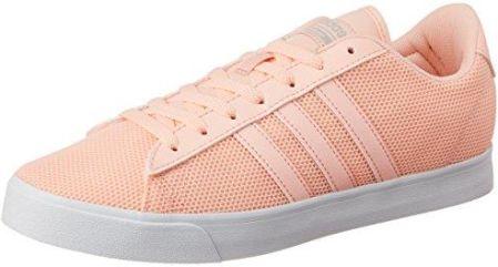 newest 5deaf 69b58 Amazon Adidas Neo damski Sneaker Cloud Foam Daily QT - różowy - 38 EU