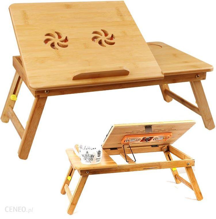 Dexxer Stolik Drewniany Pod Laptop Bambus Z Wentylatorem Opinie I Ceny Na Ceneopl