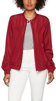 199387e76cd8c Amazon edc by Esprit damska kurtka - bluza czerwony (garnet red 620)