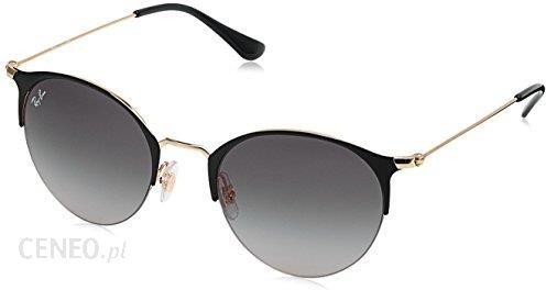 8191c12f50 Amazon Okulary przeciwsłoneczne Ray Ban halbe felgi okrągły złota Czarny rb3578  187 11 50