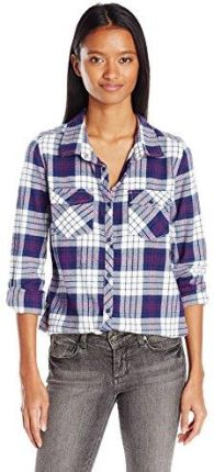 Amazon Roxy damskie Button Down koszula -  s