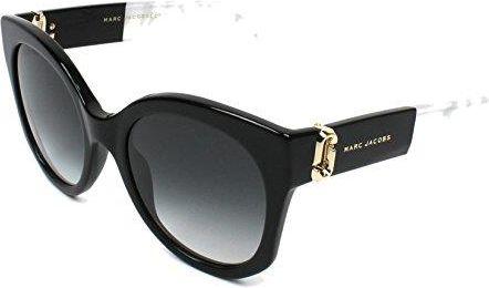 Amazon Marc Jacobs J Tempel Cateye okulary przeciwsłoneczne w kolorze  czarnym Marc 247 S 807 ce0944ba68