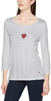 8a034450c61b60 Amazon edc by Esprit damska koszulka z długim rękawem, kolor: szary (Light  Grey