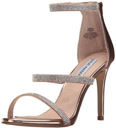 f5f69de32e7ad Amazon steve Madden smssmokin-rsgld sandały Pani, kolor: Rosa, rozmiar: 38