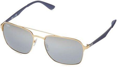 Amazon Okulary przeciwsłoneczne Ray-Ban Unisex-dorośli 3570 czarnym  (Negro), 58 f3248c42a4