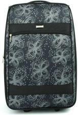 764261a8f9ee5 AIRTEX France Duża walizka na dwóch kółkach we wzory Airtex Czarny ...