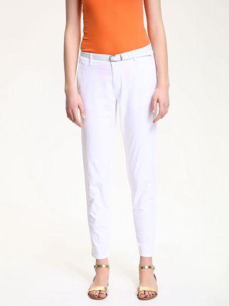 aa8f6057 Spodnie damskie Top Secret Białe - Ceneo.pl