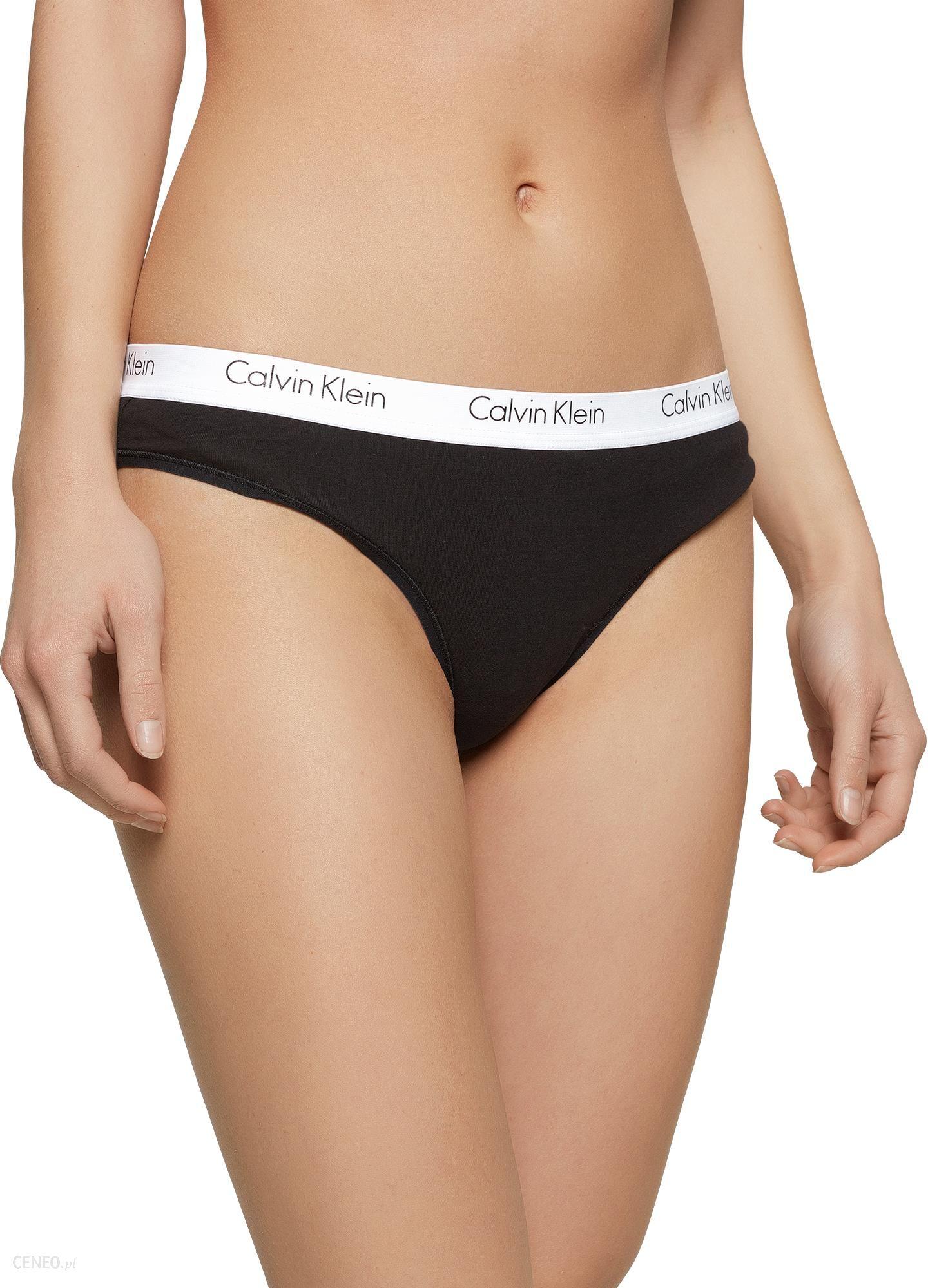 a571232685fb28 Calvin Klein Underwear Stringi '2PK THONG' - Ceny i opinie - Ceneo.pl