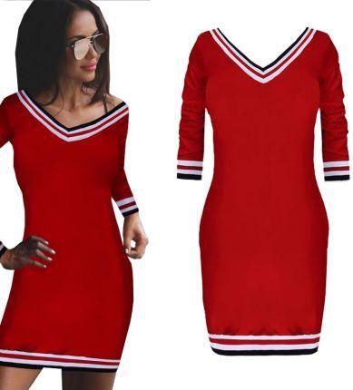 d3d662a75d Plisowana sukienka koktajlowa pasek F69 ZIELONA - Ceny i opinie ...