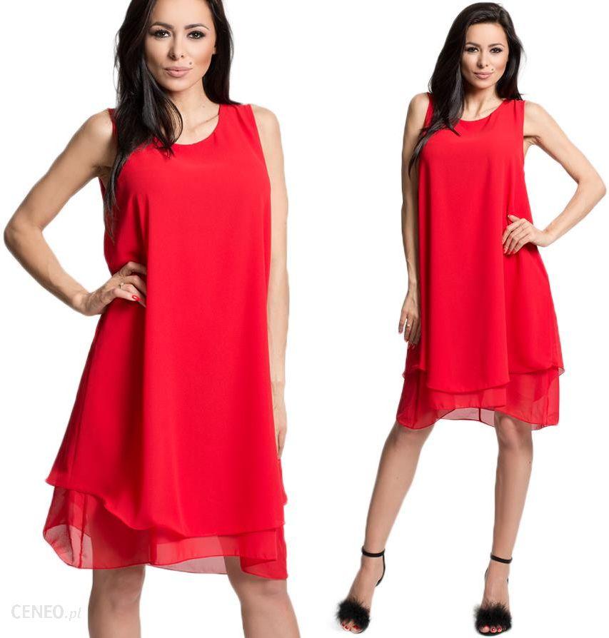 583b85ed2f Elegancka sukienka szyfonowa Italy uni 937 Kolory - Ceny i opinie ...