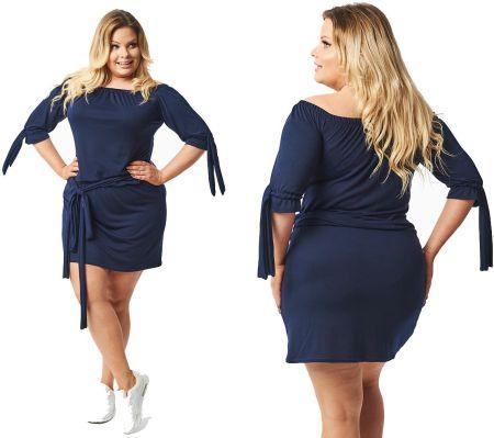 65be5cf177 Cavaricci Plus Size sukienka tunia XL XXL S-37 Allegro