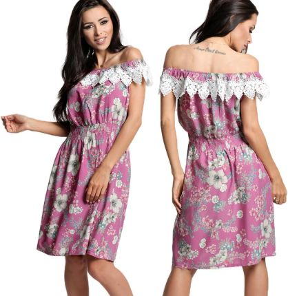 03ea076d7b Topshop Sukienka koktajlowa multicolor - Ceny i opinie - Ceneo.pl