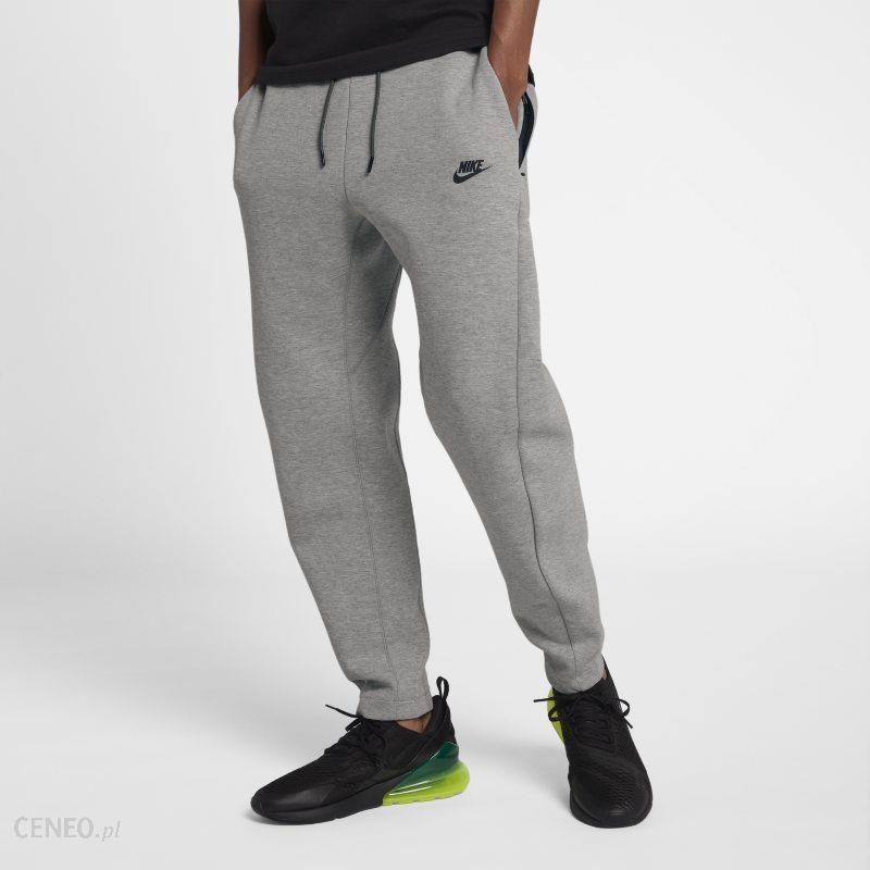 2975ca5898575e Spodnie męskie Nike Sportswear Tech Fleece - Szary - Ceny i opinie ...