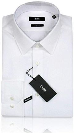 ff98fc9e8b647 Amazon Hugo Boss Business-koszula | Enzo (regular Fit) Biały/White 100
