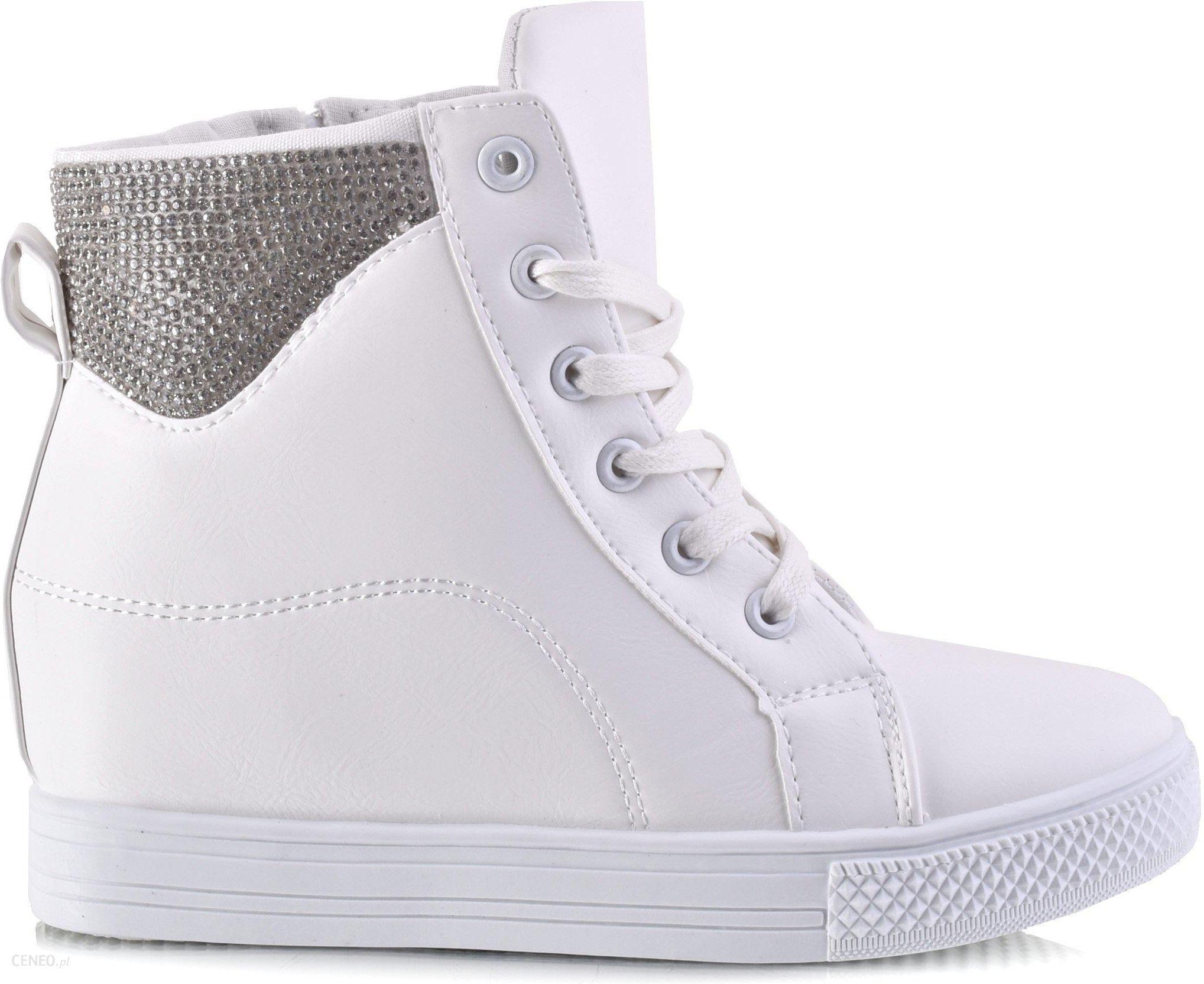 2e1b9062 Śliczne Sneakersy Botki Na Koturnie # Promocja ! - Ceny i opinie ...