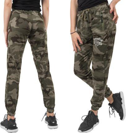 3e57aeff712025 Spodnie Dresowe Moro Dresy Army Damskie 907-1 3XL