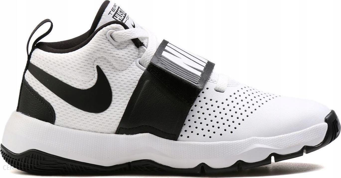 R. 40 Buty Nike Team Hustle 881941 100 Białe Ceny i opinie Ceneo.pl