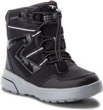 Śniegowce GEOX - J Sveggen G.Babx A J848AA 054AU C0039 S Black Silver  eobuwie ff9ad1520fd