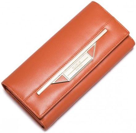 cc4aafdecefbb Nucelle NUCELLE Długi metaliczny portfel niebieski - Ceny i opinie ...