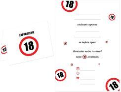 Zaproszenia Na 18 Urodziny Porównaj Ceny Ofert Na Ceneopl