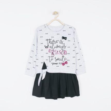 fcc3028e12 Mohito - Tiulowa sukienka dla dziewczynki little princess - Czarny ...