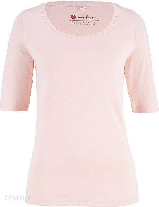 Shirt z okrągłym dekol różowy 3638 Sm 971620