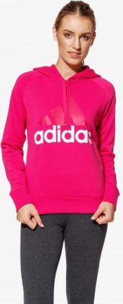 Adidas Performance ESS LIN OH Bluza z kapturem pink Ceny i