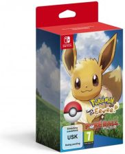Pokemon Let's Go Eevee + Pokeball Plus (gra NS)