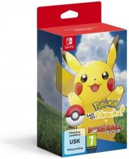 Pokemon Let's Go Pikachu + Pokeball Plus (gra Switch)