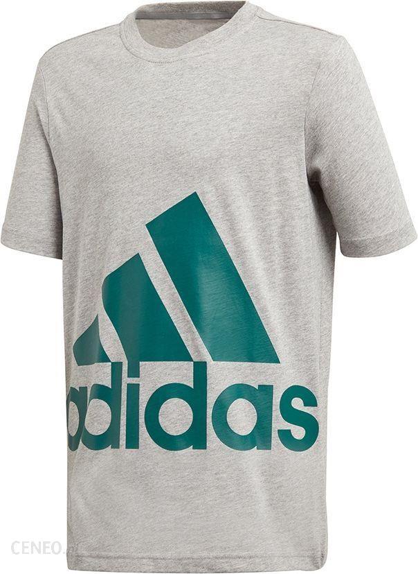 Adidas Koszulka adidas YB Big Logo Tee DJ1754 DJ1754 szary 164 cm Ceny i opinie Ceneo.pl