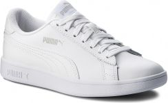 Sneakersy PUMA Smash V2 L 365215 07 Puma WhitePuma White Ceny i opinie Ceneo.pl