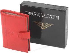 36a09dcfbd142 Etui na wizytówki, karty Emporio Valentini czerwone 563-LB01 - Rosso