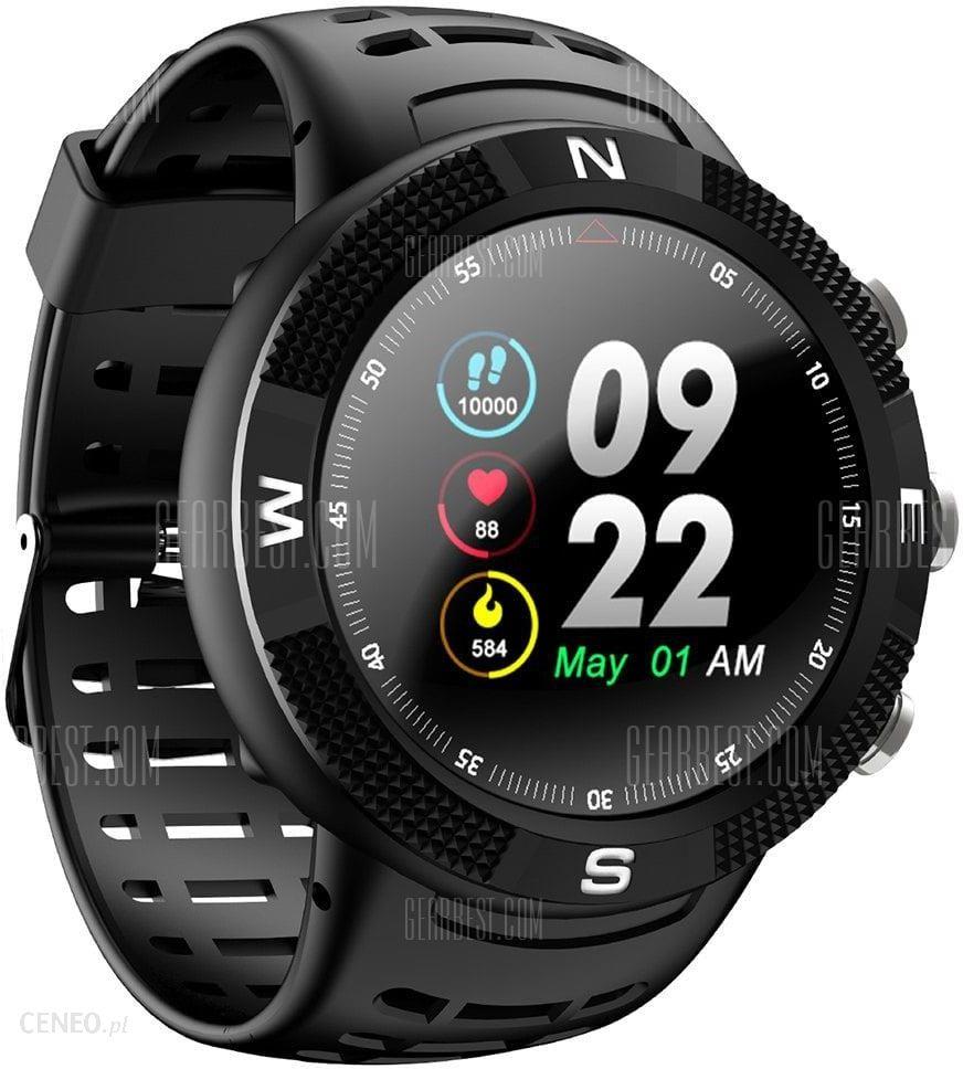 smartwatch f18 zegarek sportowy kompas gps bt ceneo