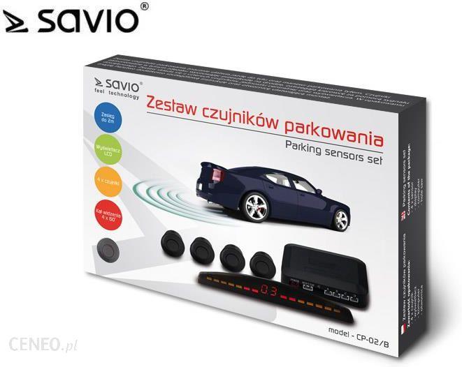 Savio Czujniki Parkowania, Lcd, Czarny Cp-02/B - Savcp-02/B-