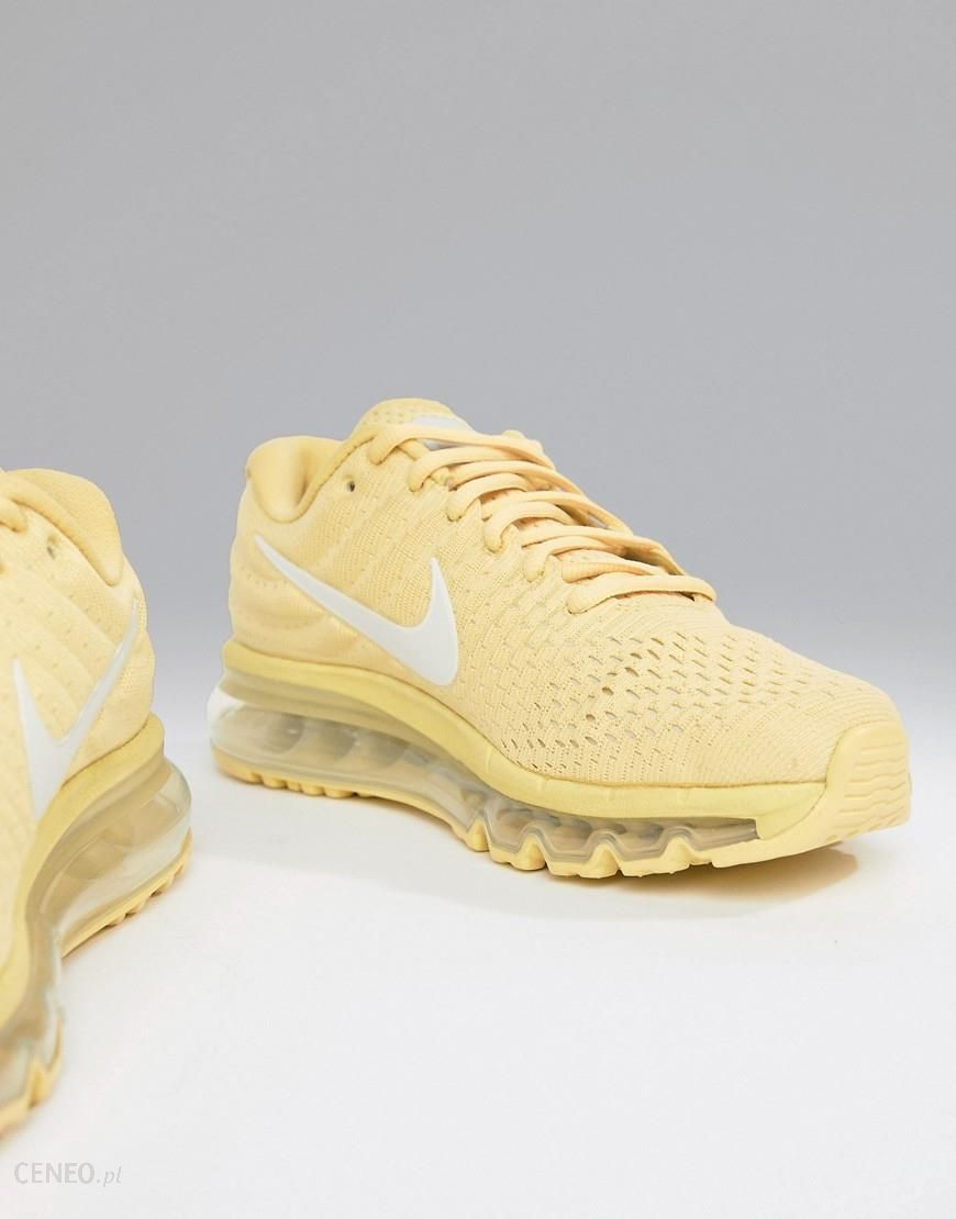 Nike Running Air Max 2017 Trainers In Lemon Yellow
