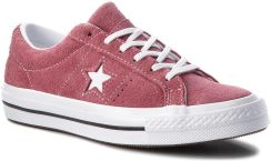 357550ffdf034 Tenisówki CONVERSE - One Star Ox 261790C Deep Bordeaux/White/White ...
