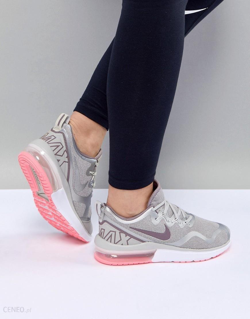 Nike Running Air Max Fury In Black And Rose Gold Black Buty sportowe damskie czarne w Asos