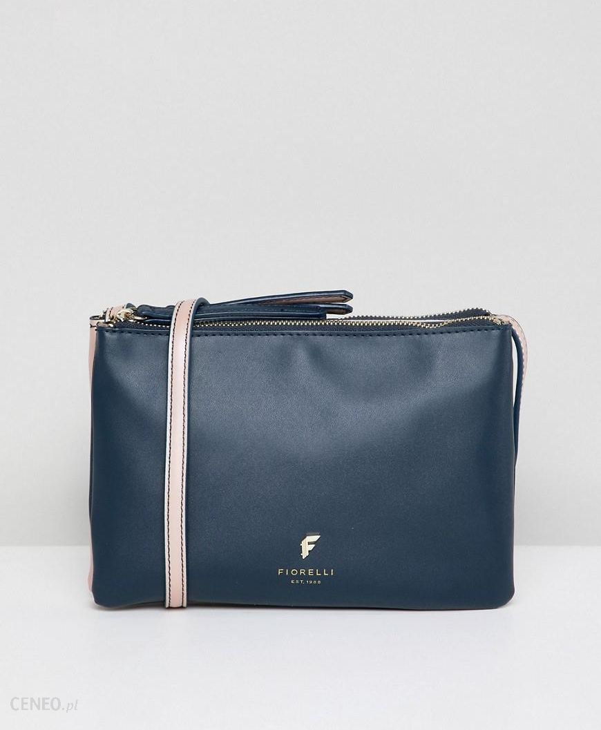 9d6818b40d Fiorelli bunton double compartment crossbody bag - Navy - zdjęcie 1